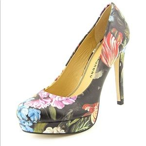 Floral Chinese Laundry Pumps